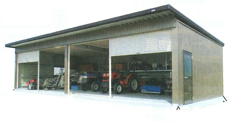 JAオリジナル農業用倉庫