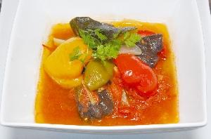 ラタトゥイユ風たっぷり野菜のスープ