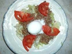 柿のヘルシー丼