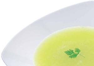 メロンの冷製スープ