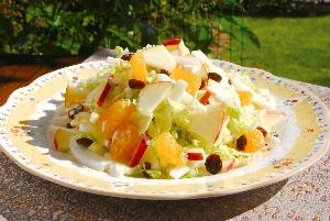 ハクサイのフルーツサラダ