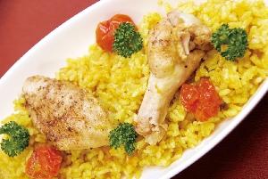 鶏手羽の炊き込ご飯