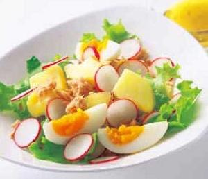 ラディッシュの彩りサラダ