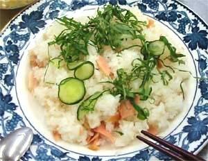 塩鮭の散らし寿司