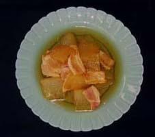 冬瓜のカレー煮