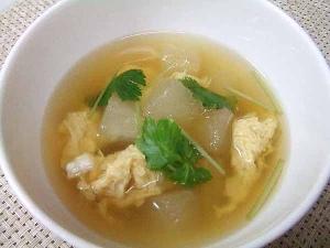 とうがん冷製スープ